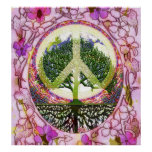 Tree of Life Peace on Earth 2 Poster