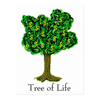 Tree of Life $$$$ Postcard