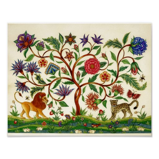 Tree of Life Poster ~ Day