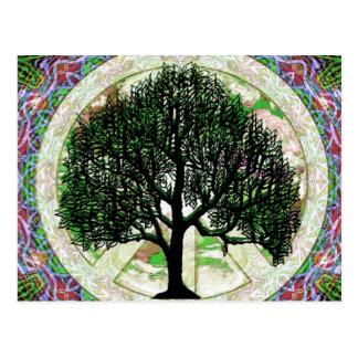 Tree of Life Prosperity Postcard
