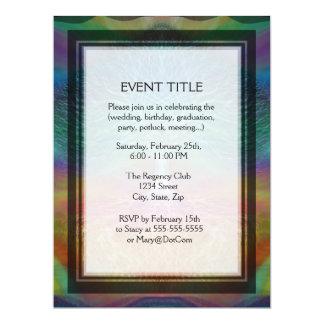 Tree of Life Rainbow Hearts Personalized Invite