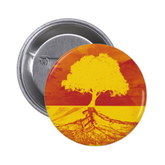 Tree of Life Relaxation 6 Cm Round Badge