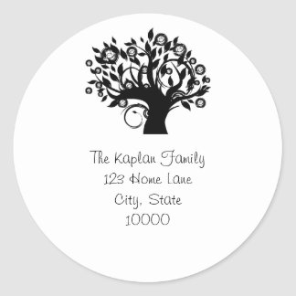 Tree of Life Return Address Envelope Seal