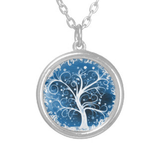 Tree of Life Round Pendant Necklace