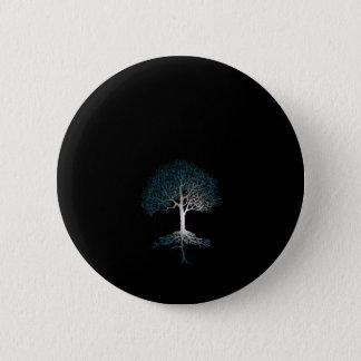 Tree of Life Silent Night 6 Cm Round Badge