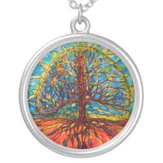 Tree of Life Silver Pendant Necklace