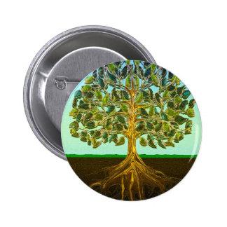 Tree of Life Simple Pleasures of Life 6 Cm Round Badge