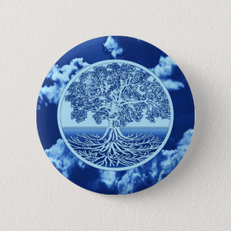 Tree of Life Soul 6 Cm Round Badge