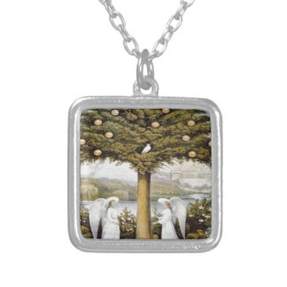 Tree of Life Square Pendant Necklace