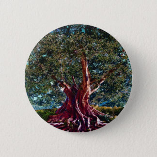 Tree of Life Stability 6 Cm Round Badge