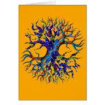 Tree of Life Sunflower Greeting Card