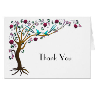 tree of life- Thank You Card