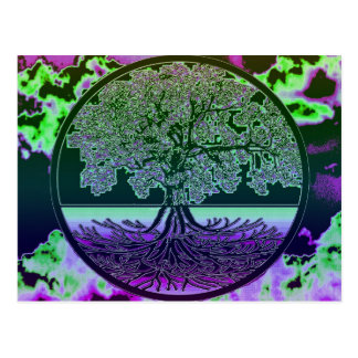 Tree of Life Thoughts Postcard