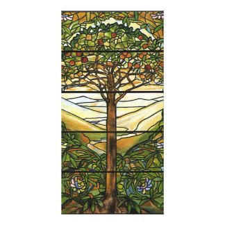 Tree of Life/Tiffany Stained Glass Window Picture Card