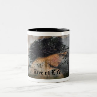 Tree of Life Two-Tone Coffee Mug