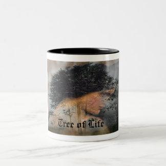 Tree of Life Two-Tone Mug