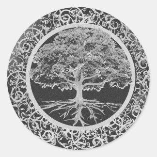 Tree of Life Vigor Classic Round Sticker