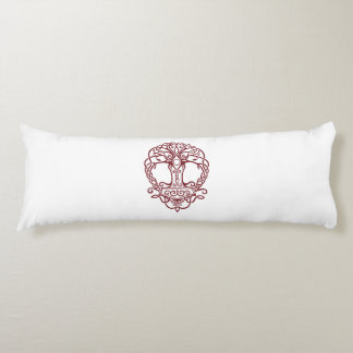 Tree of life - viking norse design body cushion