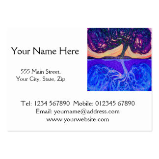 Tree of Life Water's Reflection f Business Cards