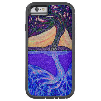 Tree of Life Water's Reflection features a tree of Tough Xtreme iPhone 6 Case