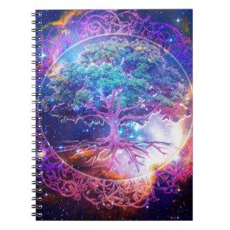 Tree of Life Wellness Notebook