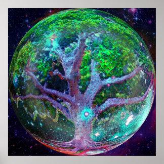 Tree of Life Wellness Poster