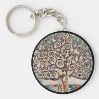 Tree of Life with Birds Key Ring
