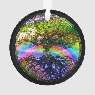 Tree of Life with Rainbow Heart