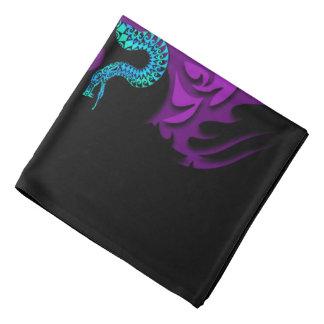 Tree of life with snake purple bandana