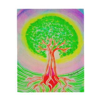 Tree of Life Wood Wall Decor