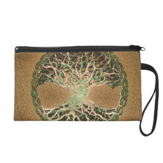 Tree of Life Wristlet Purses