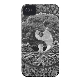 Tree of Life Yin Yang iPhone 4 Case