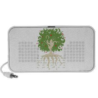 Tree of Love Doodle Notebook Speakers