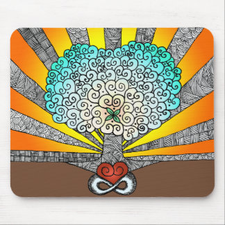 Tree of Love Mousepads