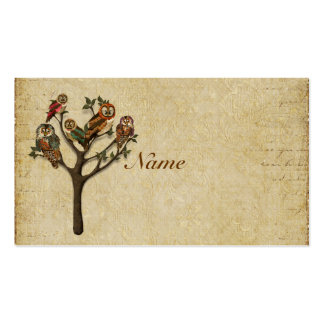 Tree of  Owls Business Card/Tags Pack Of Standard Business Cards
