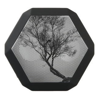 Tree on a Cliff Black Bluetooth Speaker