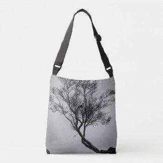 Tree on a Cliff Crossbody Bag