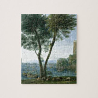 tree on the shore jigsaw puzzle