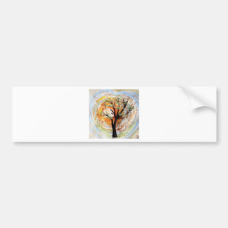 Tree on Tree Bumper Sticker