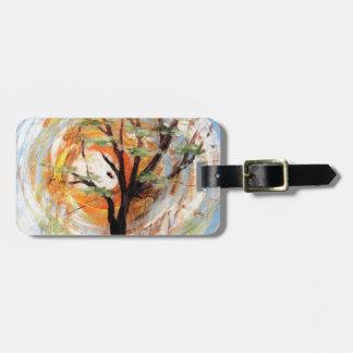 Tree on Tree Luggage Tag