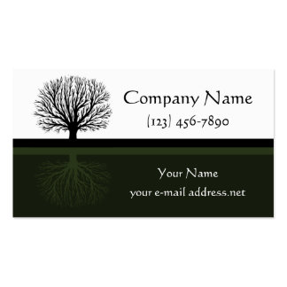 Tree Pack Of Standard Business Cards
