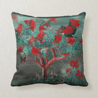 Tree Painting 2 American MoJo Pillow