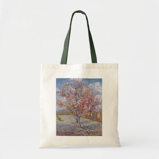 Tree Painting by Vincent Van Gogh Bags