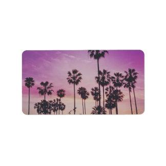 Tree Palm Nature Landscapes Sky Destiny Destiny'S Address Label