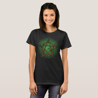 Tree Pentacle in green T-Shirt