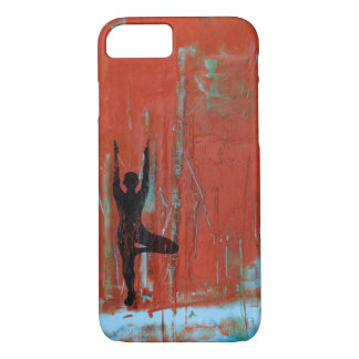 Tree Pose Yoga Girl Phone Case