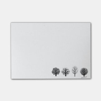 Tree post-it Notes