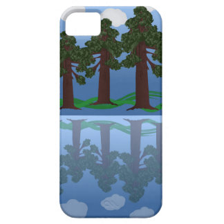 tree reflection barely there iPhone 5 case