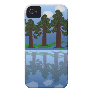 tree reflection iPhone 4 case