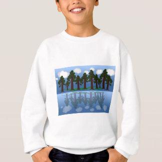 tree reflection sweatshirt